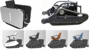 The Revolutionary UniMo Tank Tread Electric Wheelchairs