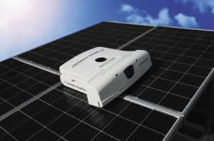 Sinfonia's Robot Up For Cleaning Solar Panels