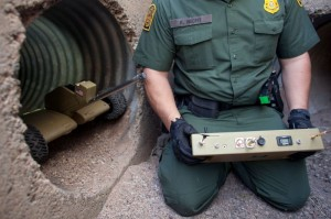 Machines Would Guard Drainage Tunnel: Fight Against Drug Peddlers