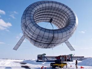 Altaeros' Buoyant Airborne Turbine: Floats at High Altitude