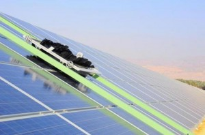 Water Free Robotic Cleaning System Takes Over The Ketura Sun Solar Park