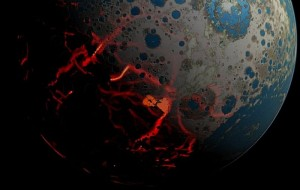 Earlier Asteroid Impacts led to the formation of Earth's Crust: Geological Evolution