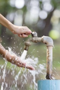 Bacteria-powered Sensor to detect Water Contamination: On-site Analysis