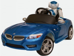NAO will Drive its Own BMW Sports Car: Humanoid Learns to Steer