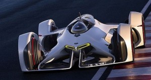 Chevy transfers the Chaparral 2X Vision Gran Turismo concept to the Physical World: Future of Racing Cars