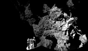 Images from Rosetta's lander Philae: Welcome to a Comet