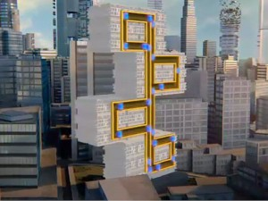 World's First Rope-Free Maglev Elevator System: The Z-Axis Travel