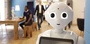 Pepper selling Espresso Machines in Japan: Humanoid to collect Customers' Opinions