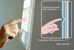 Nanobuds based Bendable and Flexible Touch Sensor: Touch Screens to New Applications
