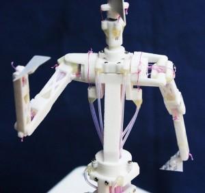 Speecys Hi-tech set of Karakuri Puppets: MF201 is Small and Agile Robot Figure
