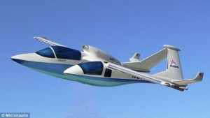 Aircraft with Panoramic Pods: Passengers to share Pilot's Eye View