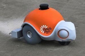 BeachBot creates artworks on an Infinitely Reusable Canvas: Robot Artist