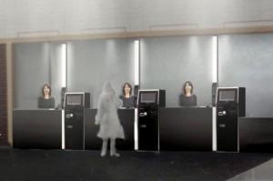 Robots to Run Futuristic Japanese Hotel: Kokoro's Actroids