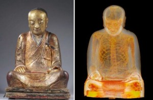 Mummified Monk encased in 1000-year-old statue: At a higher state of Meditation