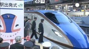 Hokuriku Shinkansen Line opens for service: Tokyo links with Kanazawa