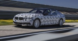 The New BMW 7 Series: Remote parking via LCD Display