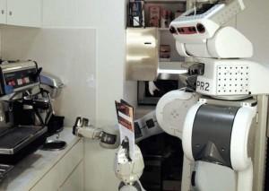 PR2 can prepare coffee autonomously: The Robo Barista