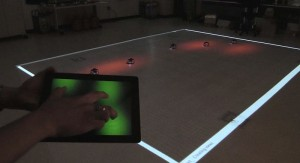 Controlling bots via Tablet: Multi-Robot System Interface