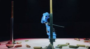 Motoman MH24 competes with Isao Machii: Industrial Robot versus Sword Master (w/ Video)