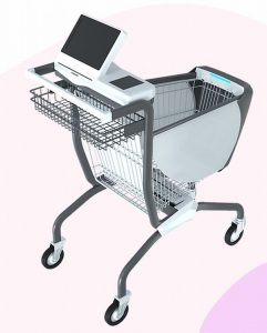 Caper Smart Shopping Cart (w/Video): Trolley with Deep Learning and Machine Vision